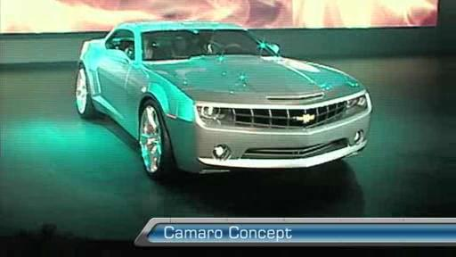 Video: 2006 Chevrolet Camaro Concept Video