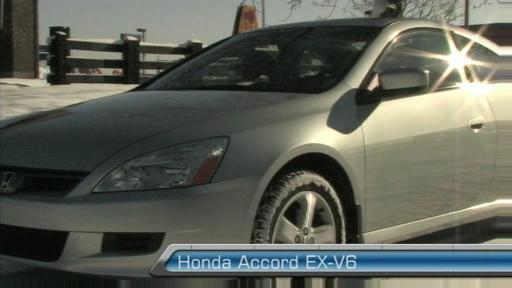 2006 Honda Accord EX-V6 Coupe Road Test (Video Clip) Video