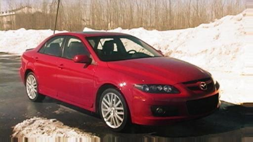 2006 Mazdaspeed6 Road Test (Video Clip) Video