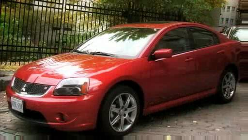 2007 Mitsubishi Galant Ralliart:  First Impressions Video  Video