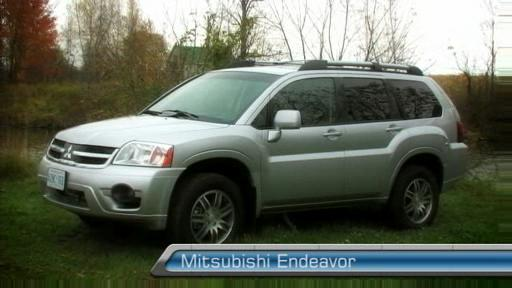 2007 Mitsubishi Endeavor  First Impressions Video