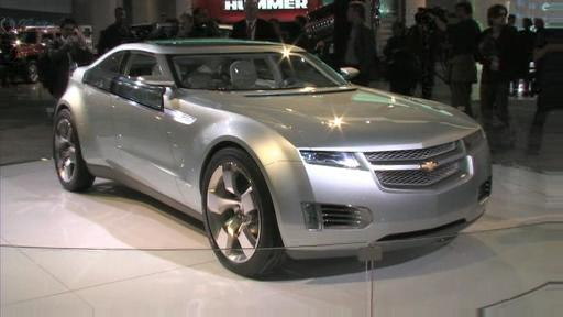 Chevrolet Volt Concept: no more gas stations, almost (VIDEO) Video