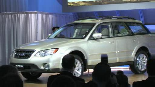 Subaru uncovers facelifted 2008 Legacy and Outback (VIDEO) Video