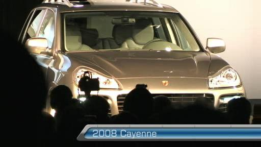 Porsche Cayenne reskined for 2008 (VIDEO) Video