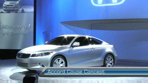 Honda shows off attractive Accord Coupe Concept (VIDEO) Video