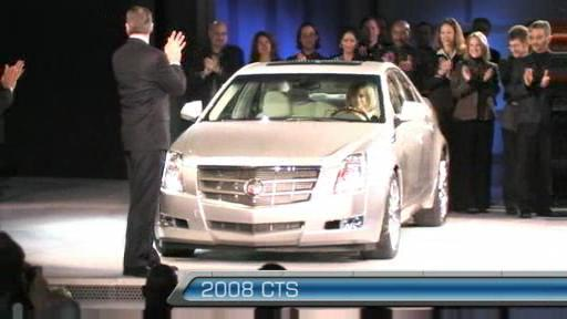 Cadillac shows off the 2008 CTS (VIDEO) Video
