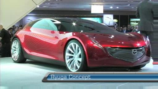 Mazda presents Ryuga Concept and 2008 hybrid Tribute HEV (VIDEO) Video