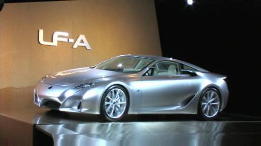 Lexus introduces 2008 IS-F and LF-A Concept (VIDEO) Video