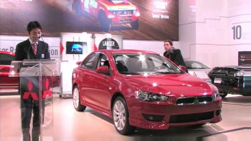 Mitsubishi announces pricing for the 2008 Lancer and 2007 Outlander (VIDEO) Video