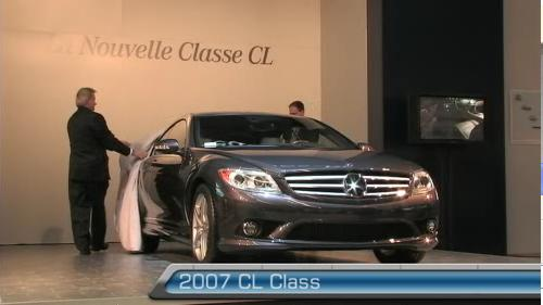 2007 Mercedes-Benz CL Class at the Montreal Auto Show (VIDEO) Video