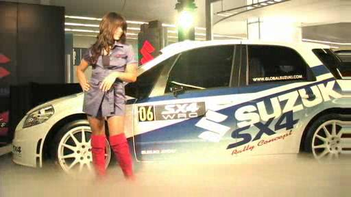 Suzuki SX4 WRC Concept at the Montreal Auto Show (VIDEO) Video