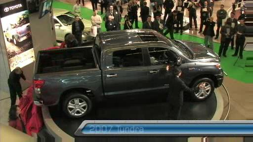 2007 Toyota Tundra Crew Max at the Montreal Auto Show (VIDEO) Video