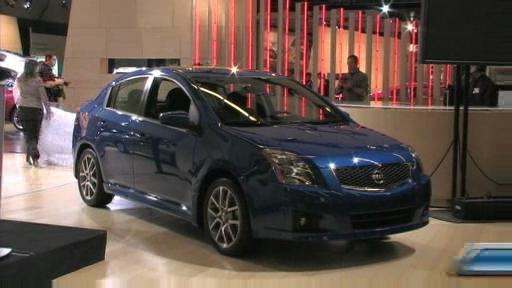 2008 Nissan Altima Coupe and 2008 Sentra SE-R at the Montreal Auto Show (VIDEO) Video
