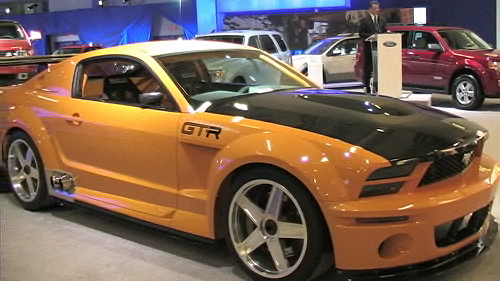 2008 Ford Escape and Mustang GT-R Concept at the Montreal Auto Show (VIDEO) Video