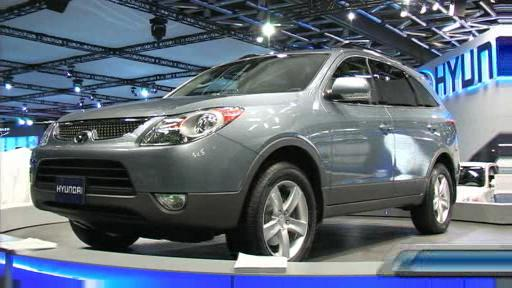 2007 Hyundai Veracruz, Accent SR and Tiburon at the Montreal Auto Show (VIDEO) Video