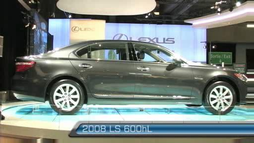 2008 Lexus LS 600h L at the Montreal Auto Show (VIDEO) Video
