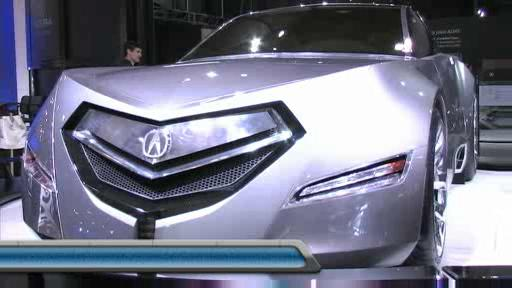Acura Advanced Sedan Concept at the 2007 Toronto Auto Show (VIDEO) Video