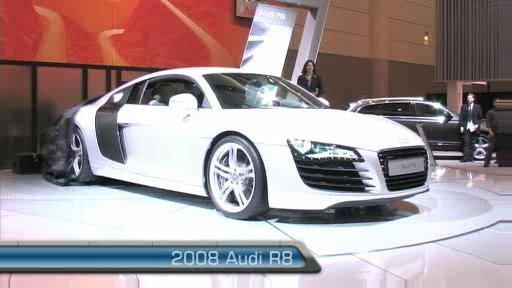 2008 Audi R8 at the 2007 Toronto Auto Show (VIDEO) Video
