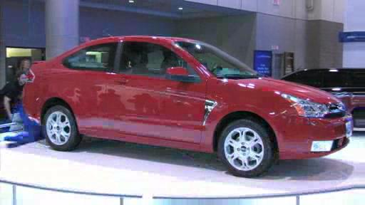2008 Ford Focus at the 2007 Toronto Auto Show (VIDEO) Video