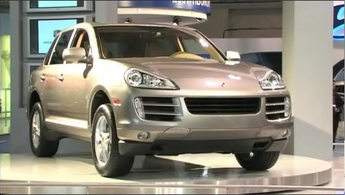 2008 Porsche Cayenne at the 2007 Toronto Auto Show (VIDEO) Video