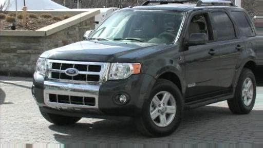 2008 Ford Escape  First Impressions Video (VIDEO) Video