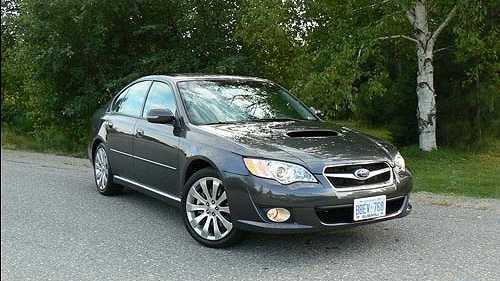 2008 Subaru Legacy 2.5GT spec.B Road Test Video