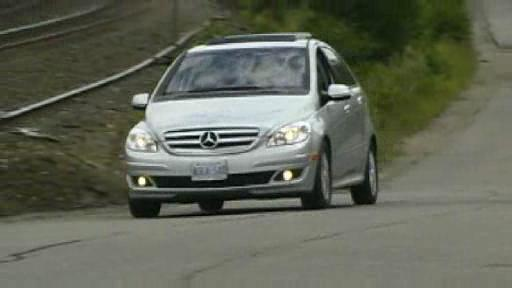 2007 Mercedes B200 Turbo Video