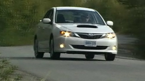2008 Subaru Impreza WRX Road Test Video
