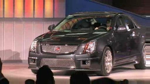 Detroit 2008: Cadillac displays CTS-V, Provoq and CTS Coupe Concept  Video