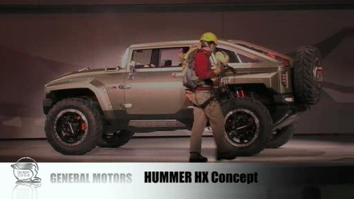 Detroit 2008: Hummer HX and Saab 9-4X concepts unveiled  Video