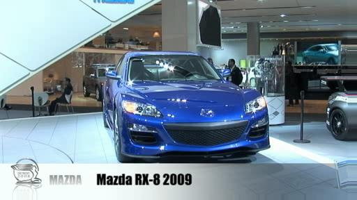 Detroit 2008: Mazda presents 2009 RX-8 as well as Furai and Taiki concepts  Video