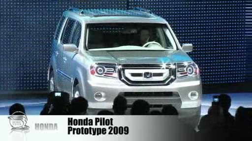 Detroit 2008: Honda shows off its Pilot and CR-Z concepts  Video