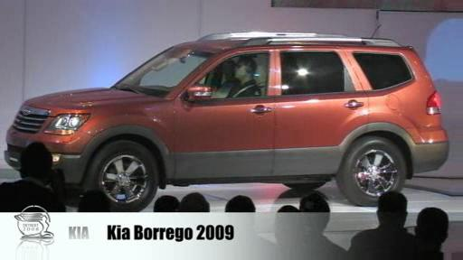 Detroit 2008: Kia shows off new Borrego 7-Passenger SUV and Kee concept  Video