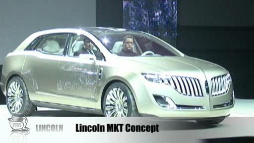 Detroit 2008: Lincoln introduces MKT crossover and MKS sedan  Video