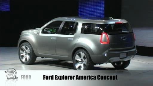 Detroit 2008: Ford unveils 2009 F-150 as well as Verve and Explorer America Concepts  Video
