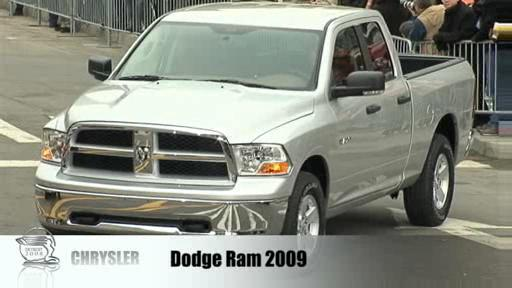 Detroit 2008: Dodge presents the more-refined 2009 Ram  Video