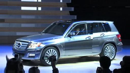 Detroit 2008: Mercedes-Benz GLK concepts launched  Video