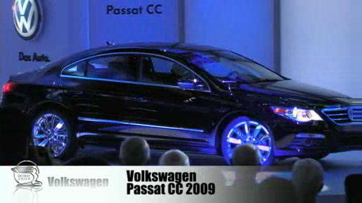 Detroit 2008: Volkswagen presents the Passat CC  Video