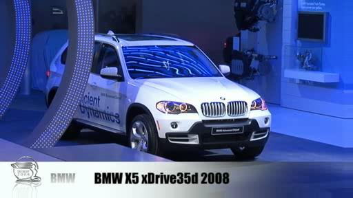 Detroit 2008: BMW displays two diesels and 135i Cabrio  Video