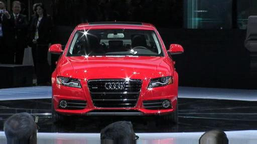 Detroit 2008: Audi presents R8 TDI supercar and TT-S  Video