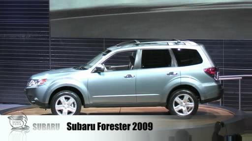 Detroit 2008: Subaru lifts the cover off the new Forester  Video