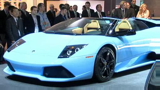Detroit 2008: Lamborghini and the art of customization  Video