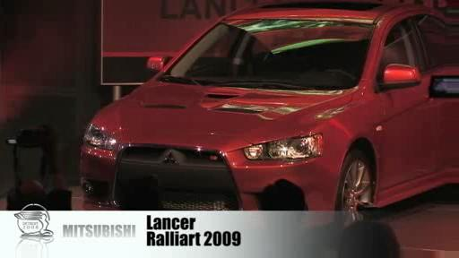 Detroit 2008: Mitsubishi displays stunning Concept-RA and Lancer Ralliart  Video
