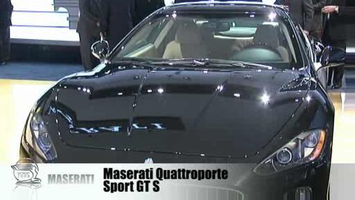 Detroit 2008: Maserati counts on exclusivity  Video