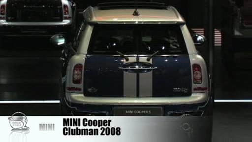 Detroit 2008: New Mini Cooper Clubman on display  Video