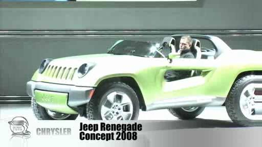 Detroit 2008: Dodge Zeo, Jeep Renegade and Chrysler ecoVoyager concepts  Video