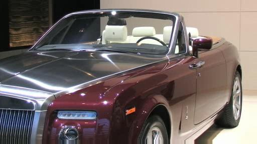 Detroit 2008: Rolls-Royce  Video