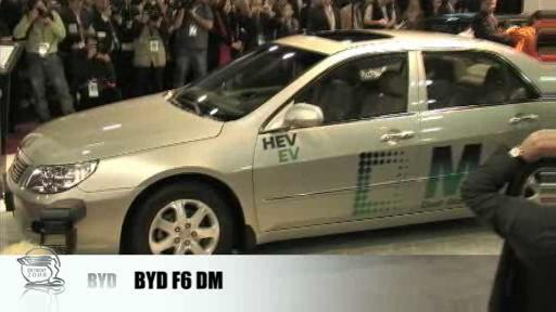 Detroit 2008: BYD targets the hybrid market  Video