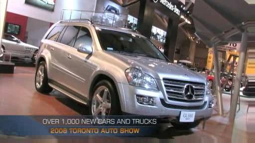 The 2008 Canadian International Auto Show kicks off!  Video