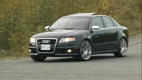 2008 Audi RS 4 Video Review